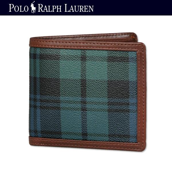 ポロ・ラルフ・ローレン/POLP RALPH LAUREN/財布(サイフ,さいふ)/2つ折小銭入れ付き財布(サイフ,