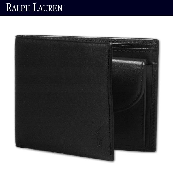 ポロ・ラルフ・ローレン/POLP RALPH LAUREN/ウエントワース・ライン/財布(サイフ,さいふ)/2つ折小銭入れ付き財布(
